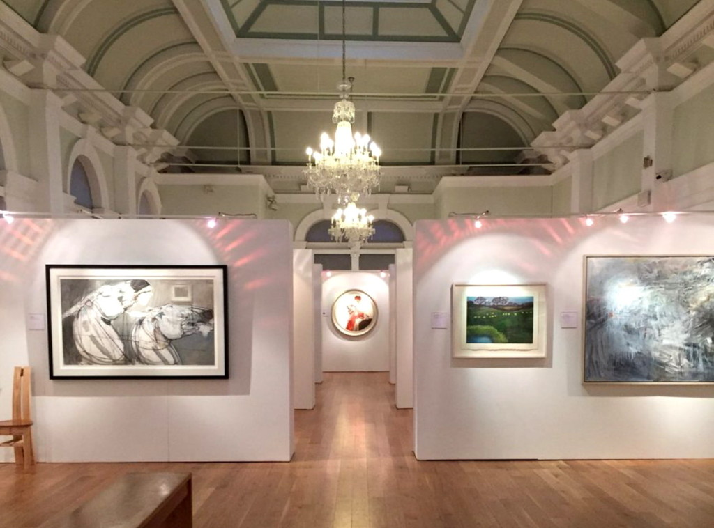The New Light Prize Exhibition at the Mercer Gallery, Harrogate