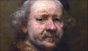 Rembrandt, 'Self Portrait'