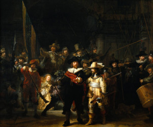 Rembrandt, 'The Night Watch'