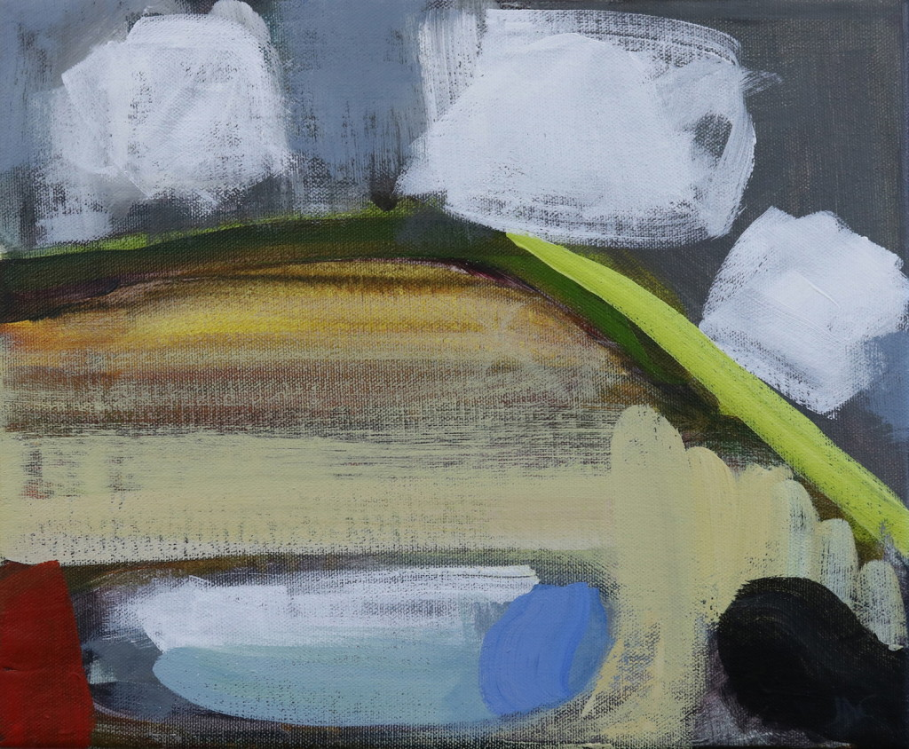 Jill Campbell, Spring 5, 25x30cm, Acrylic on canvasLR