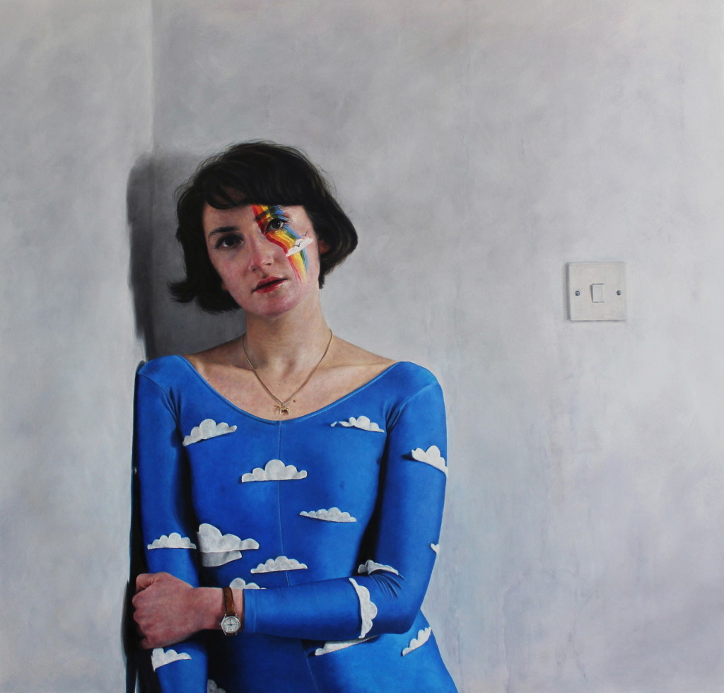 Laura Quinn Harris, Cloud Candy, 58x61cm, Oil on board