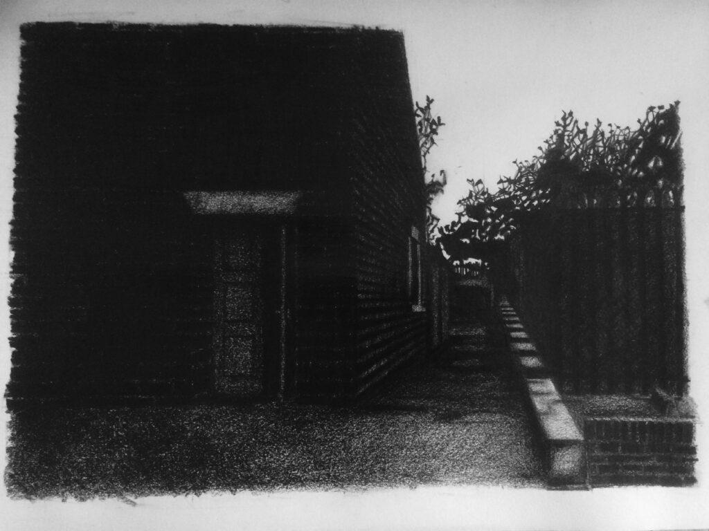 Paul Digby, Harehills Lane, 29x42cm, Pencil on paper