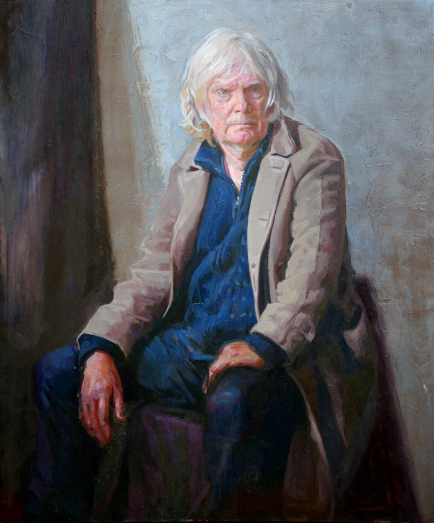Thomas Rimmington, Portrait of Bryn, 109x90cm, Oil on canvas