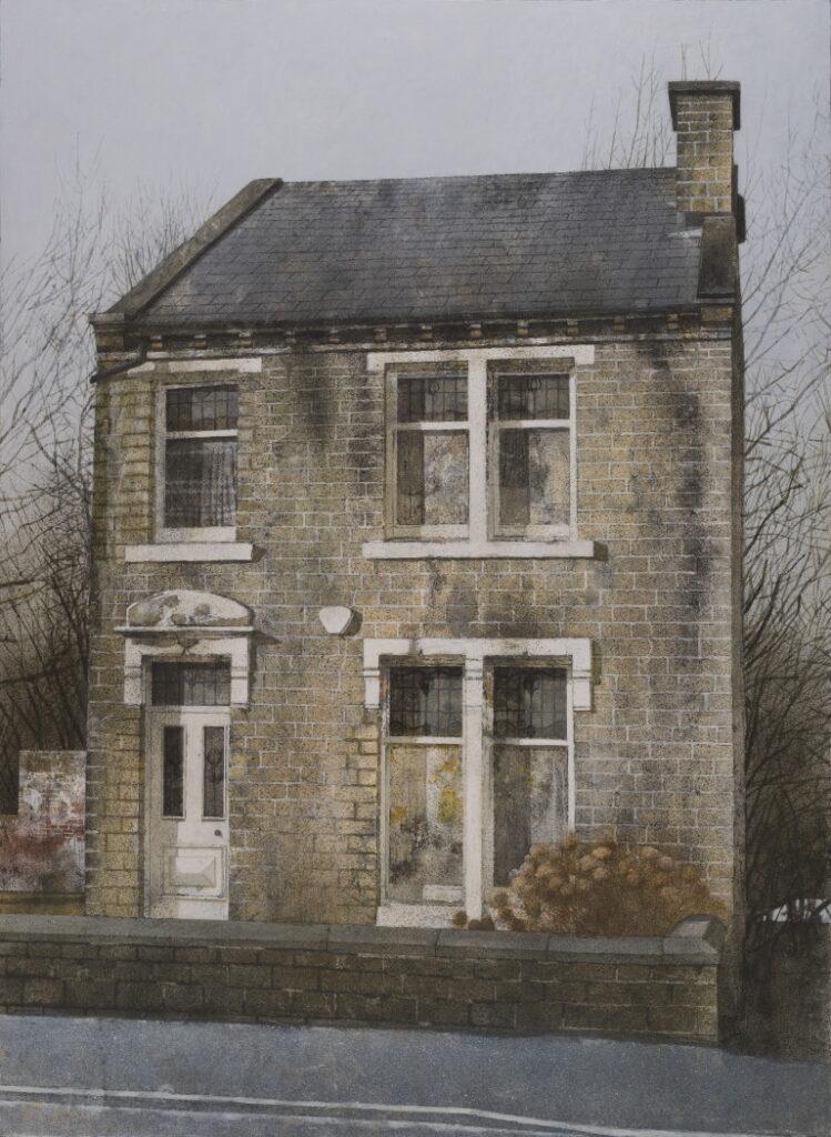 House 126x92 cms acrylic on canvas on panel 2016